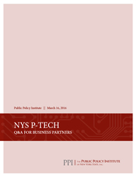NYS P-Tech, Q&A For Business Partners